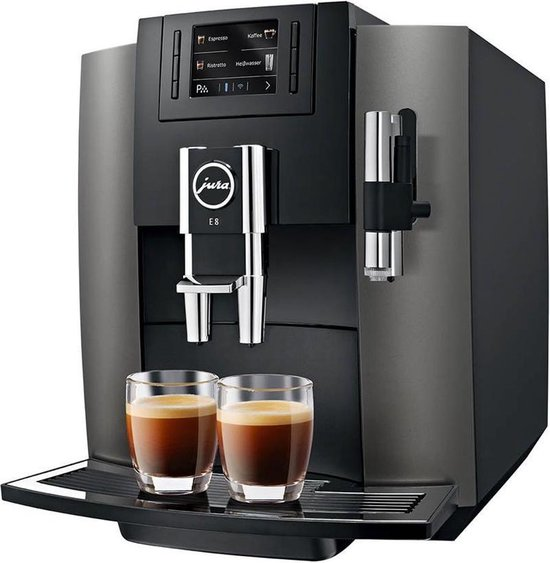 Jura Impressa E8 - Volautomaat Espressomachine