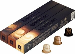 Nespresso cups - Barista line - 3 x 10 stuks