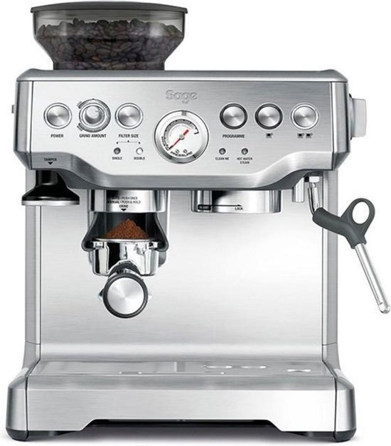 Sage The Barista Express - Pistonmachine - Stainless Steel