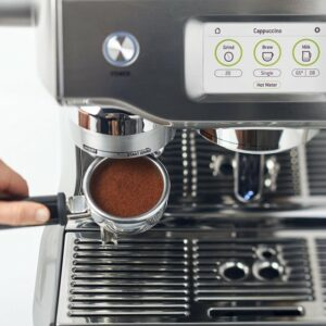 Sage The Oracle Touch koffie maken